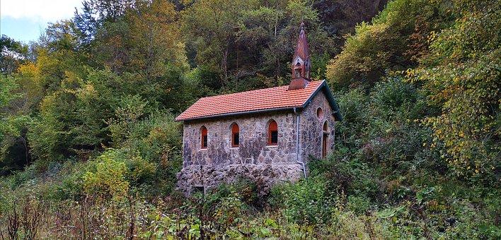 Chapel, Faith, Forest, Wutach Gorge, Black Forest