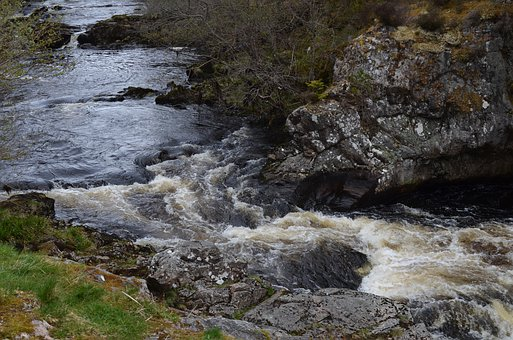 Falls Of Shin, Scotland, Highlands And Islands