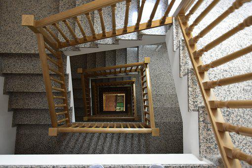 Stairs House, Building, Architecture, House, Stairs