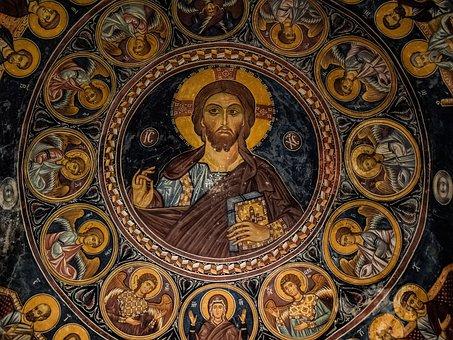 Pantocrator, Jesus Christ, Angels, Iconography