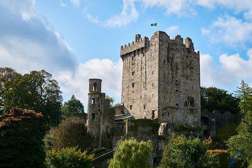 Ireland, Cork, Castle, Castles, Blarney, Fortress