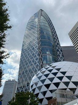 Tokyo, Japan, Kenos Tange, Cityscape, City, Skyscraper