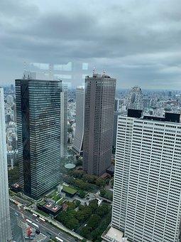 Tokyo, Japan, Kenos Tange, Cityscape