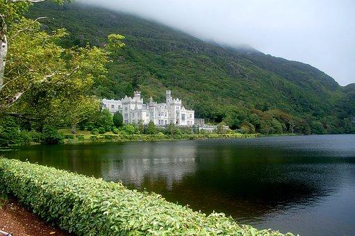 Ireland, Landmark, Places Of Interest, Kylemore Abbey