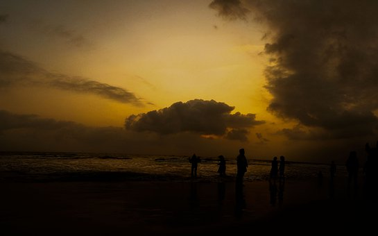 Sunset, Cloud, Nature, Landscape, Sea, Orange
