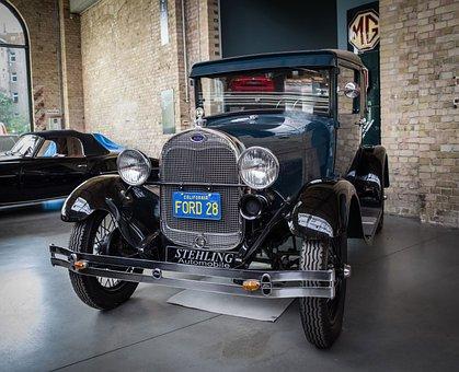 Ford, Model-a, Automotive, Transport, Limousine