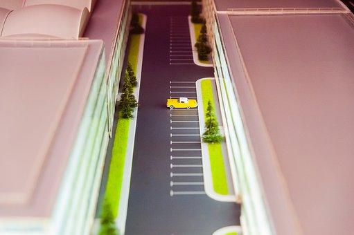 Miniature, Layout, Model, Car, Vehicle, Auto, Design