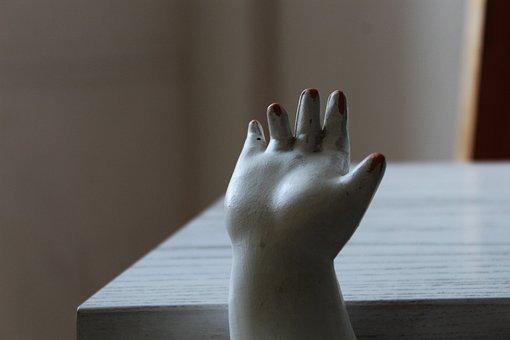 Figure, Hand, Finger, Nails, Artwork, Woman, Sculpture