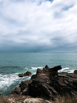 Mount Maunganui, New Zealand, Sea, Beach, Nature