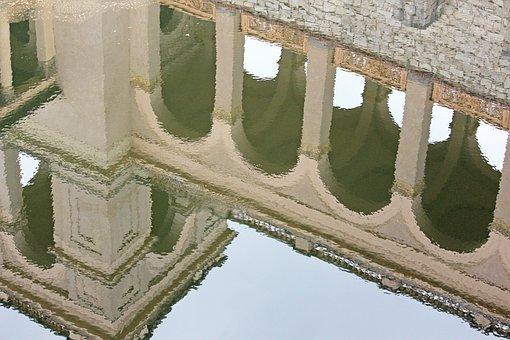Mirroring, Belvedere Castle, Pfingstberg, Potsdam