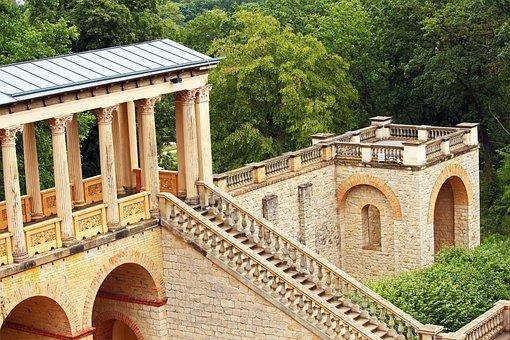 Belvedere Castle, Pfingstberg, Potsdam, Columnar