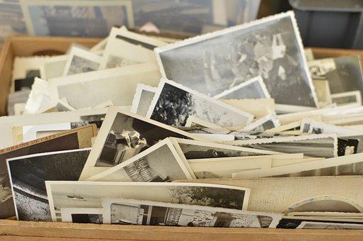 Flea Market, Photograph, Black And White, Bw, Nostalgia