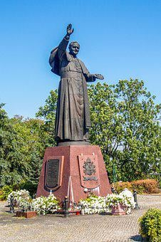 Monument, Pope John Paul Ii, Pope, The Statue Of