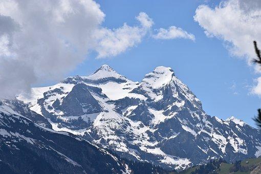 Mountain, Uri Rotstock, Switzerland