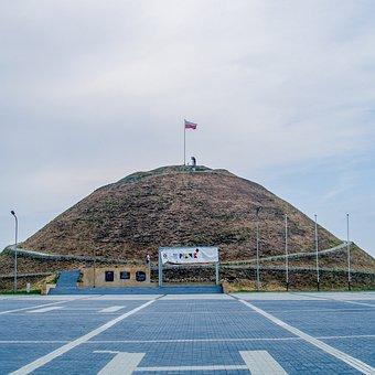 The Mound, Release, Piekary, Silesian, Parking, Flag