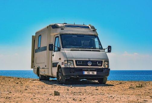 Car, Van, Vehicle, Camper, Volkswagen, Automobile
