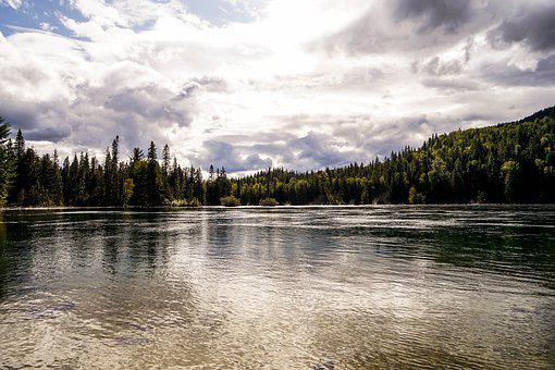 Canada, Lake, Nature, Water, Landscape, Sky, Travel