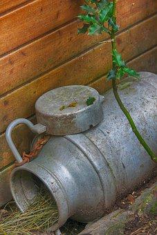 Pot-in-milk, Pot, Milk, Farm, Former, Agriculture