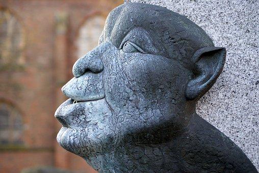 Head, Sculpture, Art, Statue, Artwork, Man, Figure