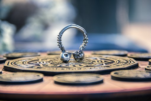 Time, Astrology, Symbol, Ring, Silver, Death, Live
