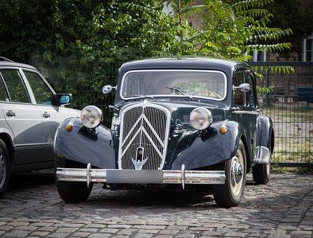 Citroen, Oldtimer, Auto, Vehicle, France, Classic