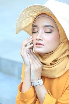 Beauty, Islamic, Muslim, Religion, Woman, Eyes