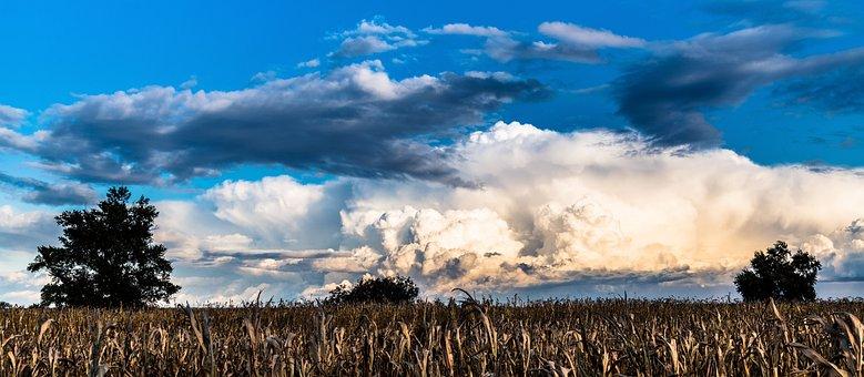 The Sky, Clouds, Blue, Nature, Weather, Bratislava