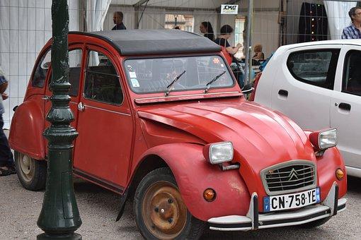 Doscaballos, Car, Citroen, France, Automobile