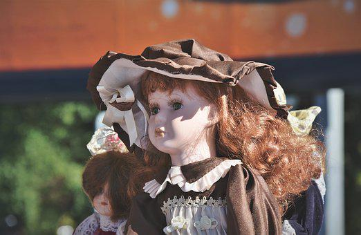 Doll, Doll Face, Figure, Face, Children Toys, Female