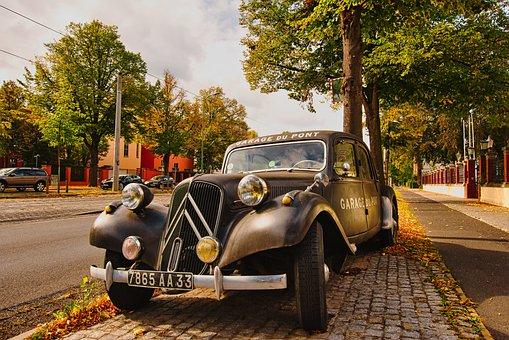 Oldtimer, Citroen, Vehicle, France, Classic
