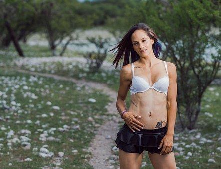 Sexy, Bra, Topless, Lingerie, Woman, Underwear, Gym
