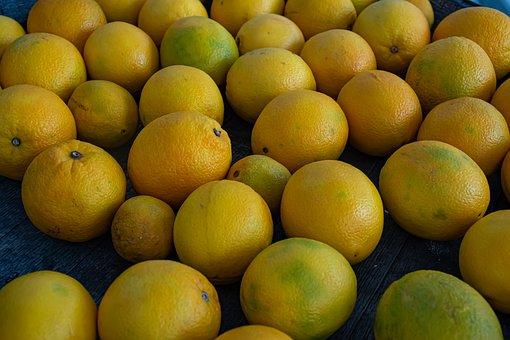 Citrus, Lemons, Vitamins, Lot, Healthy, Food, Juicy