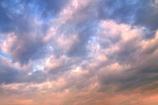 Clouds, Sky, Sunset, Air, Atmosphere, Light, Horizon