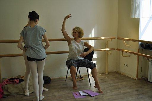 School, Ballet, Lesson, Example, Choreographer, Job