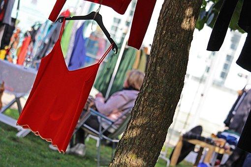 Laundry, Flea Market, Market Days, Coat Hanger, Ironing