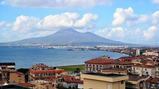 Volcano, Vesuvius, Italy, Landscape, Naples, Mountain