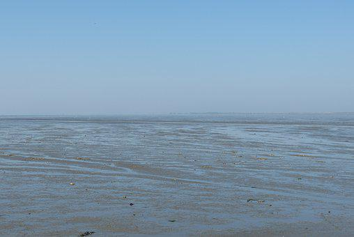 Ebb, North Sea, Neuharlingersiel, East Frisia, Nature