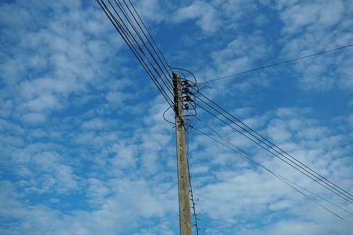 Sky, Electric, Electricity, Weather, Nature, Power