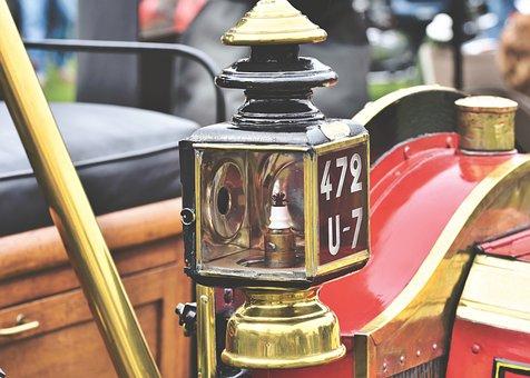 Spotlight, Lantern, Oldtimer, Automotive, Vehicle
