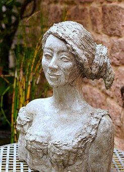 Statue, Stone, Sculpture, Figure, Art, Woman