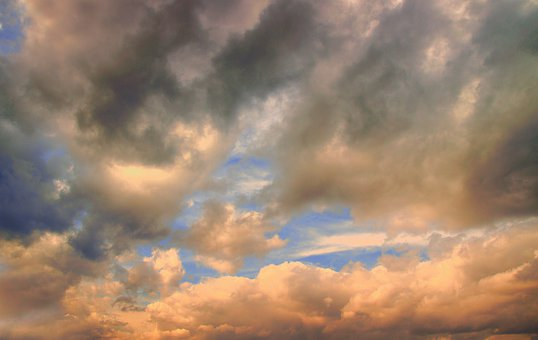 Clouds, Stormy, Sky, Nature, Cloudscape, Atmosphere
