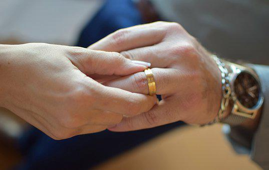 Alliance, Marriage, Union, Casal, Commitment, Grooms