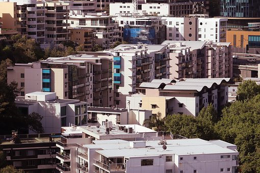 Suburban, Inner City, Living, Apartments, Architecture