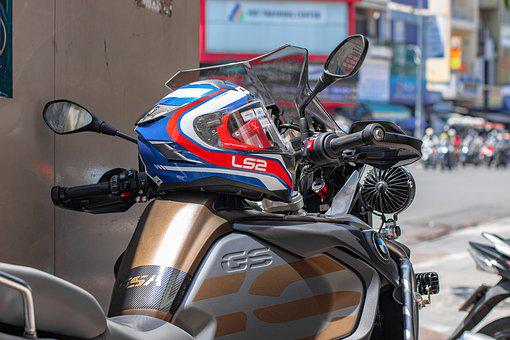 Bmw Motorrad, Ls2, Motor Helmets, Ff327, Challenger
