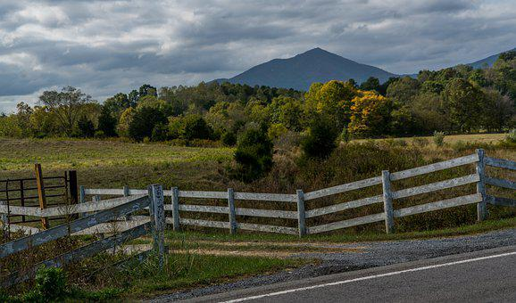 Blue Ridge Parkway, Virginia, Country Roads