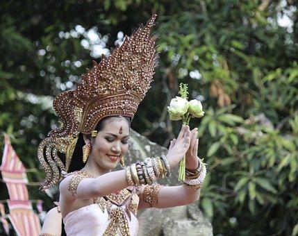 Dancer, Thai, Thailand, Culture, Traditional, Cambodia