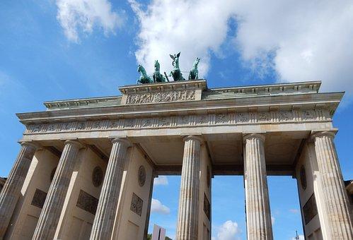 Brandenburg Gate, Berlin, Germany, Landmark, Goal, City