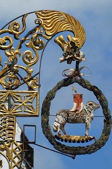 Shield, Building, Lamb, History, Architecture, Culture