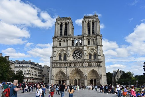 Paris, France, Architecture, Landmark, City, Europe