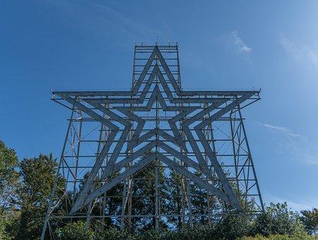 Roanoke Star, Virginia, Landmark, Historic